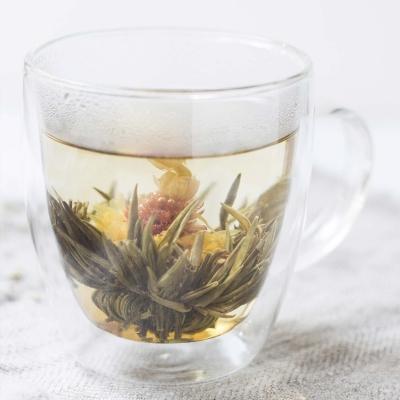 Связанный китайский чай – сюрприз для эстетов