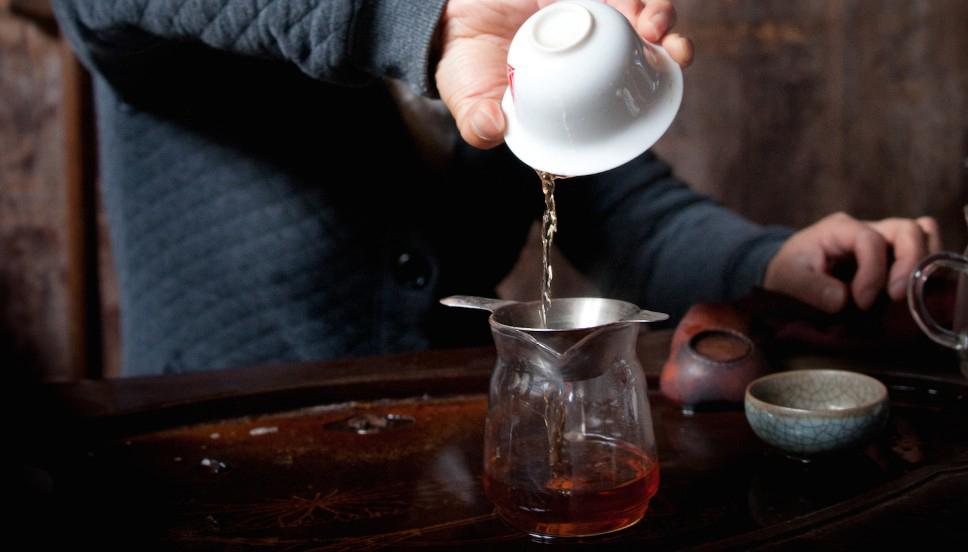 Заваривание листового чая