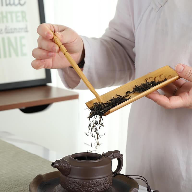 чахэ лодочка из бамбука