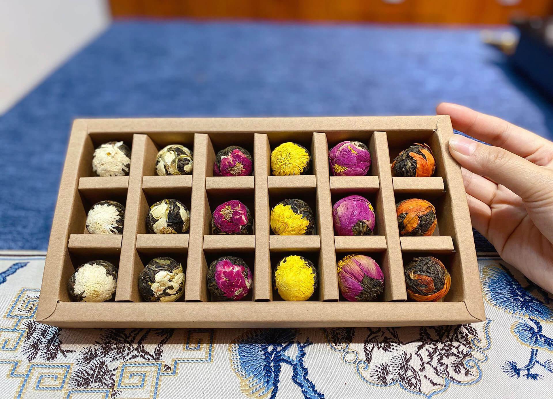 Подарочный набор цветочного чая