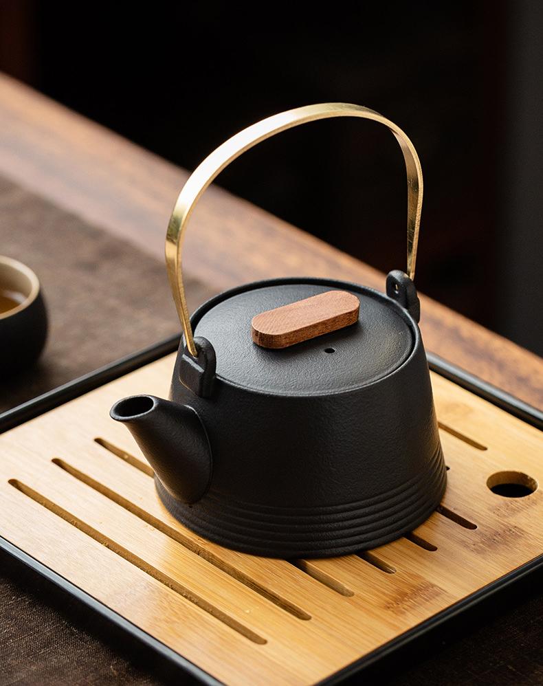 Чайный сервиз японская церемония черный